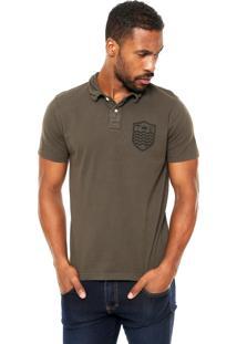 Camisa Polo Osklen Slim Verde