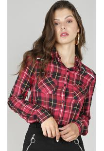 2571c1f852 Camisa Clock Rosa feminina