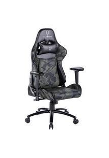 Cadeira Gamer Husky Tactical Camuflada - Htt-Wl