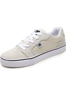 Tênis Dc Shoes Anvil La Bege