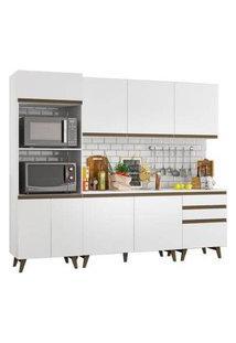Cozinha Completa Madesa Reims Com Balcão - 8 Portas 3 Gavetas Madesa