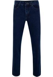 Calça Jeans Tradicional Masculino - Masculino-Marinho