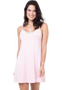Camisola Viscolycra Homewear Rosa | 589.0714