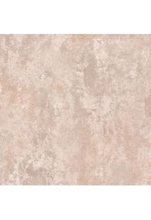 Papel De Parede Cimento Queimado Marrom Claro (1000X52)