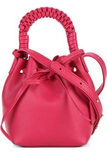 Bolsa Shoestock Mini Bag Bucket Handmade Feminina - Feminino