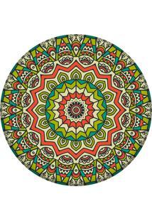 Tapete Love Decor Redondo Wevans Mandala Green 94Cm
