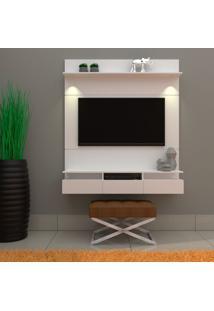 Painel Para Tv Até 50 Polegadas Gabriela Branco 160 Cm