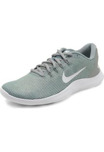 Tênis Nike Wmns Flex 2018 Rn Verde/Cinza