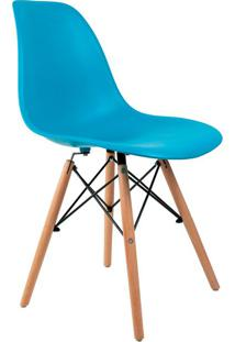 Cadeira Charles Eames Turquesa