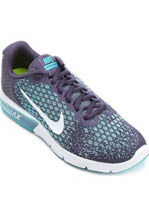 Tênis Nike Air Max Sequent 2 Feminino - Feminino-Roxo+Azul