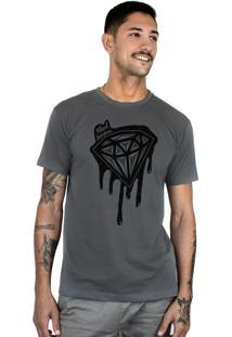 Camiseta Bleed American Shine Diamond Chumbo