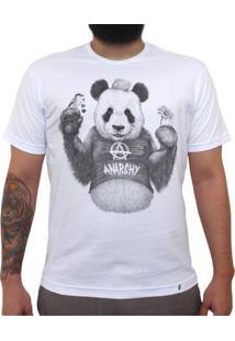 Punk Panda - Camiseta Clássica Masculina