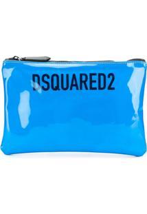 Dsquared2 Bolsa Clutch - Azul