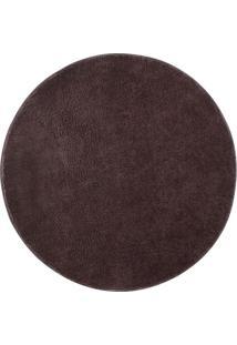 Tapete Classic- Marrom Escuro- Ø100Cm- Oasisoasis