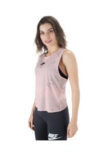 Camiseta Regata Nike Air Tank - Feminina - Rosa Claro