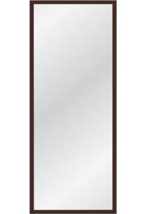 Espelho Decorativo Retrô 135X55 Marrom Escuro