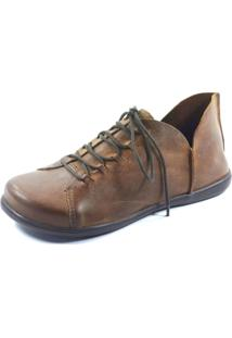 Sapato S2 Shoes Retrô Marrom
