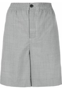 Alexander Wang Short Cintura Alta - Cinza