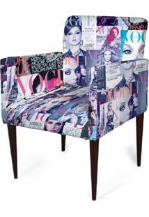 Cadeira Decorativa Mademoiselle Plus Imp Digital (2 Peças) Imp Digital 105 Vogue