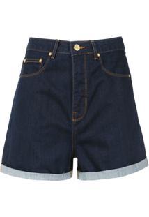 Amapô Short Mom´S Jeans 'Kingston' - Azul