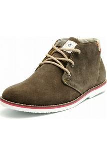 Bota Casual Shoes Grand Camurca Marron - Masculino