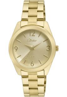 Relógio Condor Feminino Analógico Dourado Co2035Kse4D - Kanui