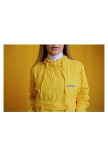 Jaqueta Approve Corta Vento Pocket Approve Pixel Amarelo