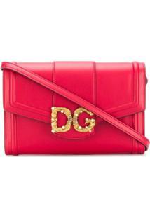 Dolce & Gabbana Carteira Dg Amore - Vermelho