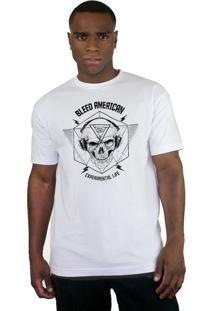 Camiseta Bleed American Experimental Branco