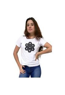 Camiseta Feminina Cellos Honey Premium Branco