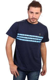 Camiseta New York Polo Club - Masculino-Marinho