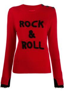 Zadig&Voltaire Rock & Roll Sweater - Vermelho