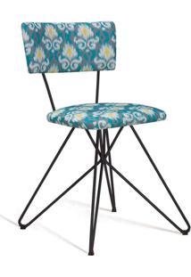 Cadeira Butterfly Preto E Cinza