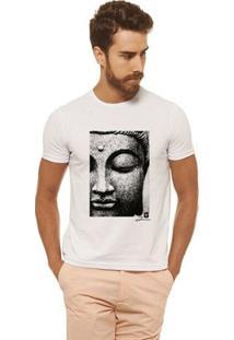 Camiseta Joss - Face Buda - Masculina - Masculino-Branco