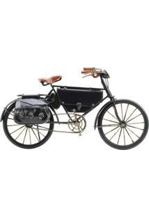 Enfeite Decorativo Minas De Presentes Bicicleta Preto - Kanui