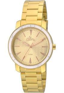 Relógio Allora Feminino Al2035Fkf/K4X + Colar E Brincos - Feminino