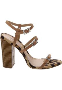 Sandália Salto Thin Stripes Schutz S201480401