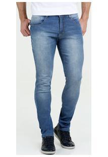 Calça Masculina Jeans Stretch Skinny Stretch Biotipo