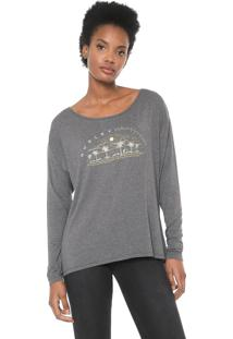 Blusa Hurley Dirt Dreams Grafite