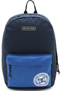 Mochila Dc Shoes Backstack Cb Btl0 Azul-Marinho