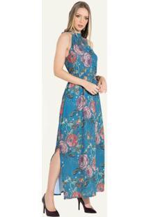 fa5d59c53 Vestido Com Fendas Quintess feminino | Gostei e agora?