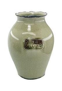 Vaso Decorativo Bege Home - The Home