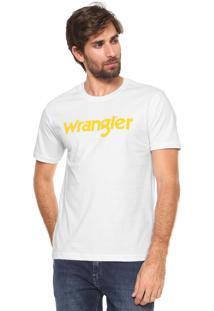 Camiseta Wrangler Basic Branca
