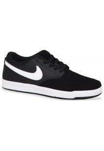 Tenis Nike Skate Sb Fokus Vermelho Cinza