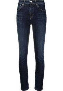 Citizens Of Humanity Calça Jeans Cropped Loveland - Azul