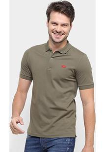 Camisa Polo Lacoste Live Masculina - Masculino-Verde