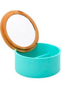 Porta Acessórios Para Banheiro De Banco Verde Soft Coisas E Coisinhas