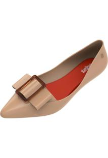 Sapatilha Melissa Pointy Iii Ad Bege