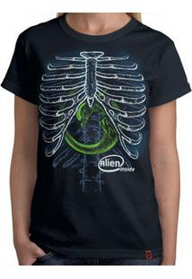 Camiseta Alien Inside