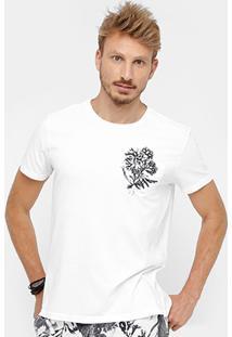 Camiseta Ellus Bolso Coral Masculina - Masculino